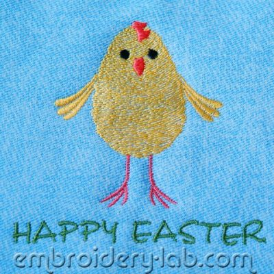 Easter chick 0001 FREE
