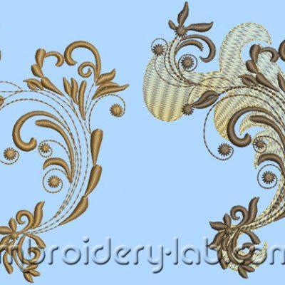 Pattern 0002+0003 SET (2 designs)