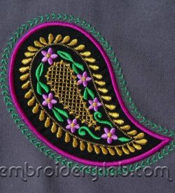 Paisley 0003_2 applique