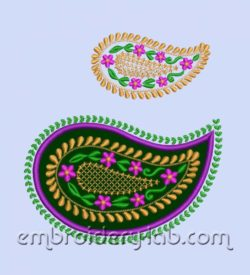 Paisley 0003 SET (2 designs)