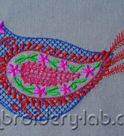 Bird paisley