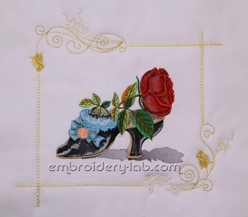 Rose 0002 SET (2 designs)