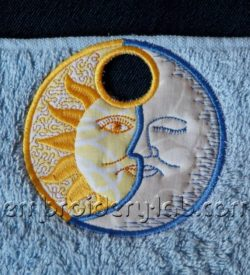 Towel topper celestial 0001