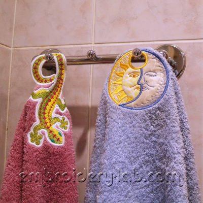Towel  topper celestial 0001