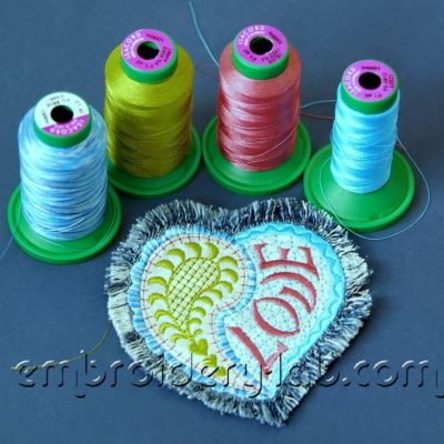 Paisley heart 0001 applique