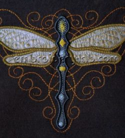 Dragonfly 0001 applique 2