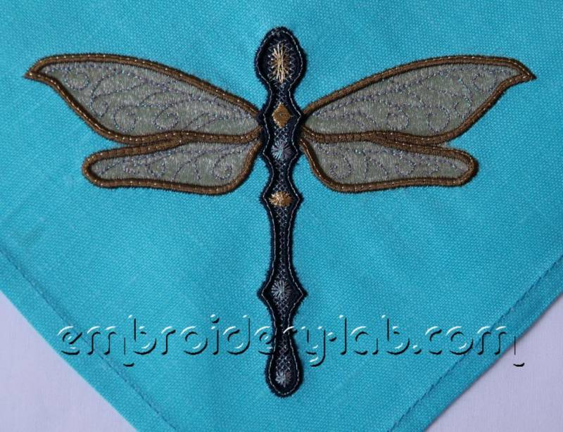 Dragonfly 0001 applique 1