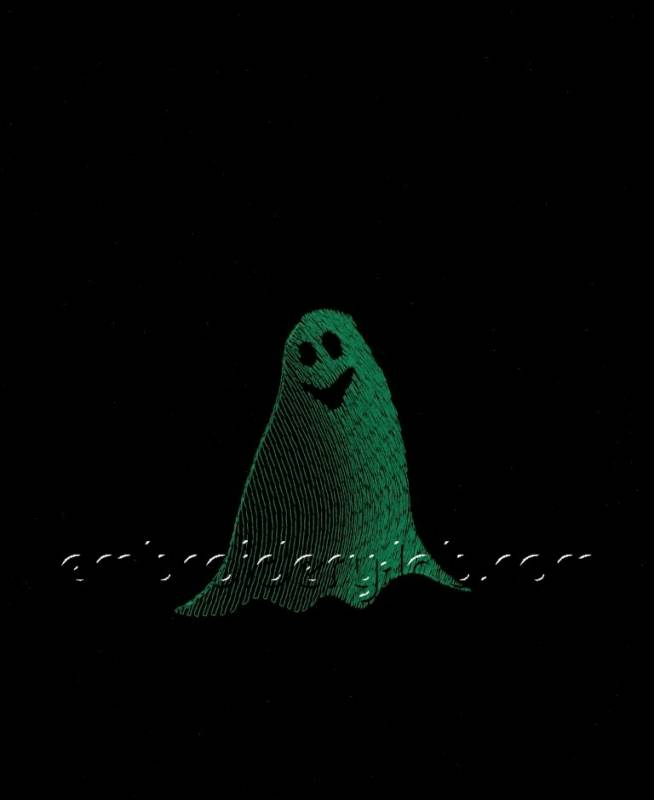 Pendant Ghost 0001