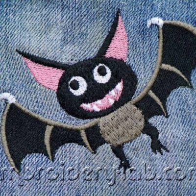 Bat 0001+ Inscription Mad Bat 2 colours+Inscription Mad Bat 3 colours SET