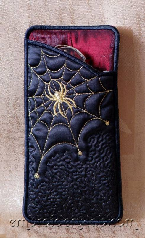 Eyeglass Case Spider 0001