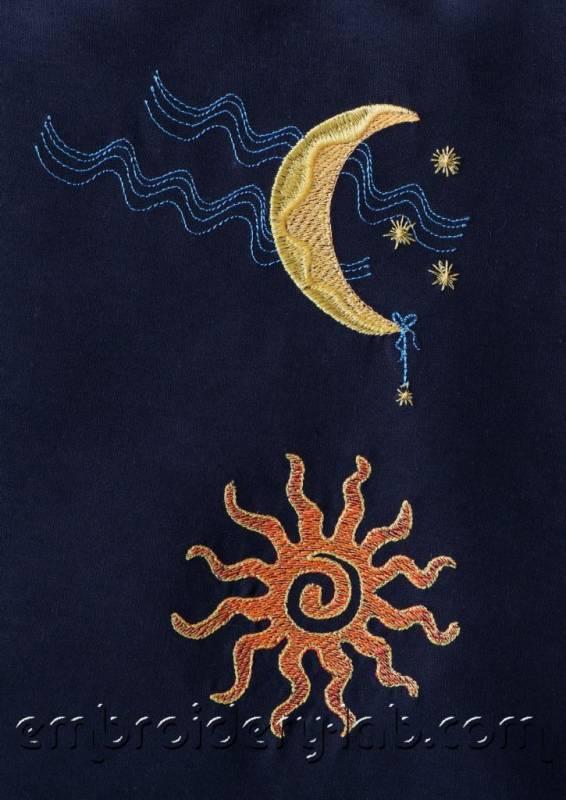 Moon 0001 & Sun 0002 SET