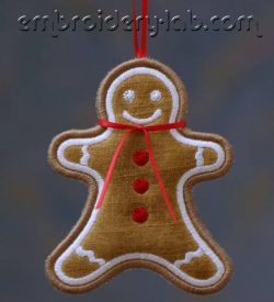 Gingerbread Man 0001 Hanging Decoration