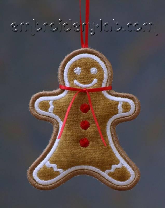 Gingerbread Man 0001 Hanging Decoration