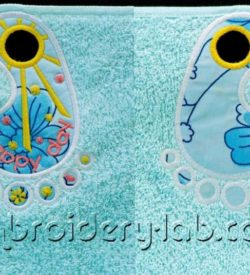 Towel Topper Happy Day 0001
