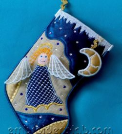 Christmas Stocking 0002 + Moon SET