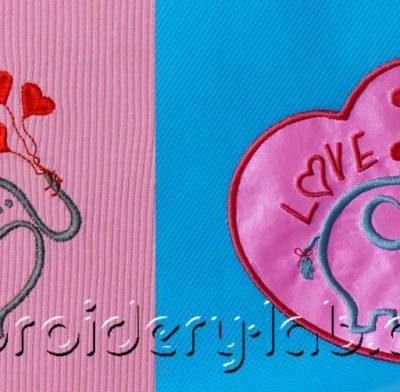 Elephant 0001 + Elephant 0001 Valentine SET