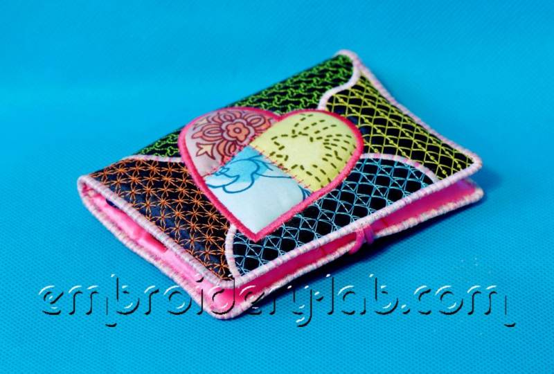 USB Wallet 0001 Heart