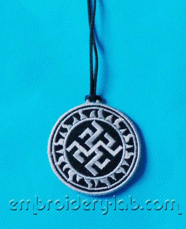 Old Slavic Symbol Odolen-Trava