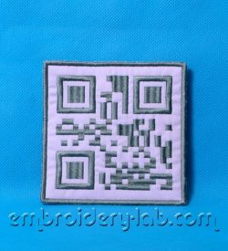 QR-Code 0001 'I LOVE YOU' Coaster