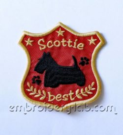 'Scottie best' Emblem 0001