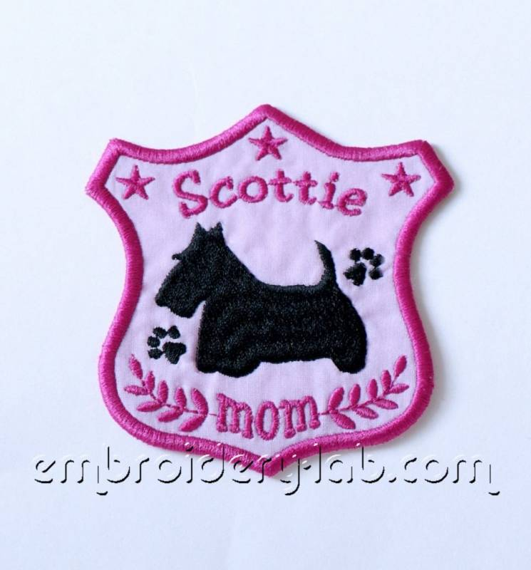 'Scottie's mom' Emblem 0001