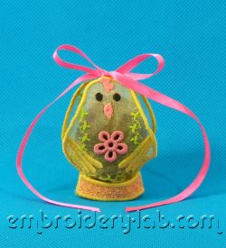 Easter Chick Egg Holder 0001