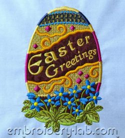 Easter Egg 0001 applique