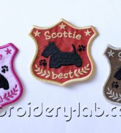 Scottie Emblems 0001 Set