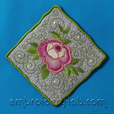 Rose 0003 Coaster