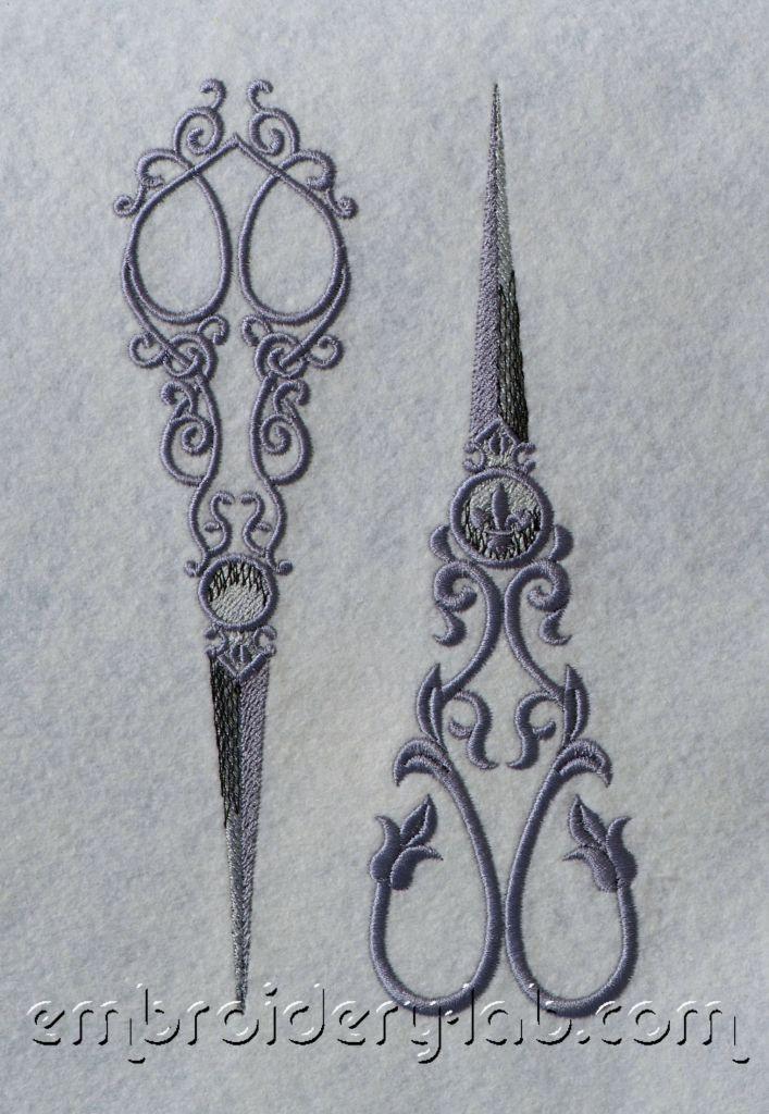Vintage Scissors SET