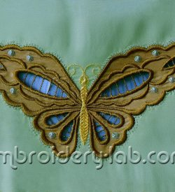 Butterfly Cutwork Applique 0002