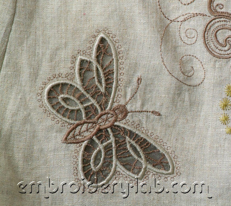 Butterfly 0003 Cutwork