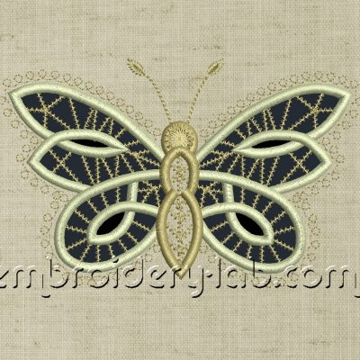 Butterfly 0003 Cutwork