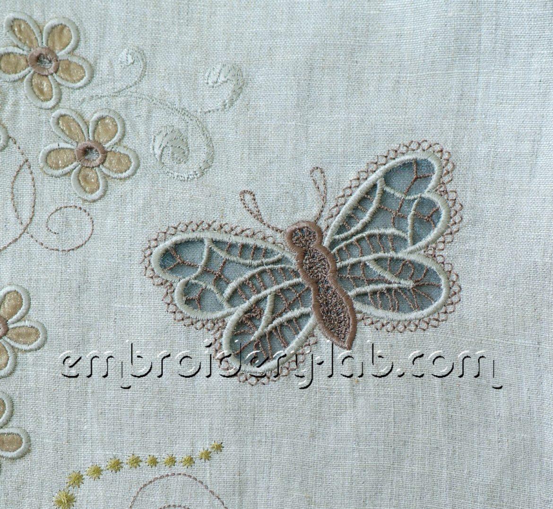 Butterfly 0004 Cutwork