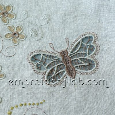 Butterfly 0004 Cutwork