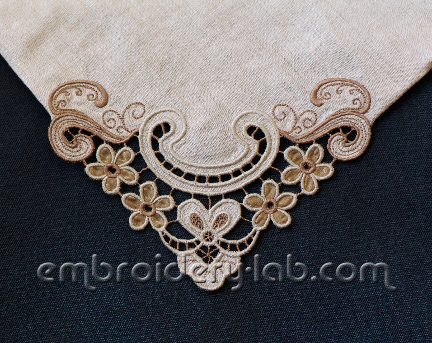 Corner Cutwork 0003 Machine Embroidery Designs Embroidery Lab