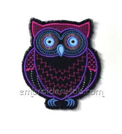Owl 0001 applique