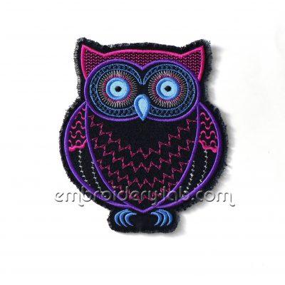 Owl 0001 applique