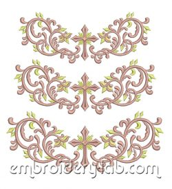 Pattern 0005 Cross