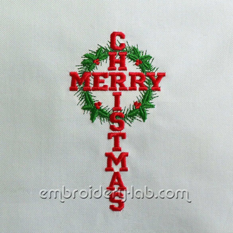 Marry Christmas 0001 Cross