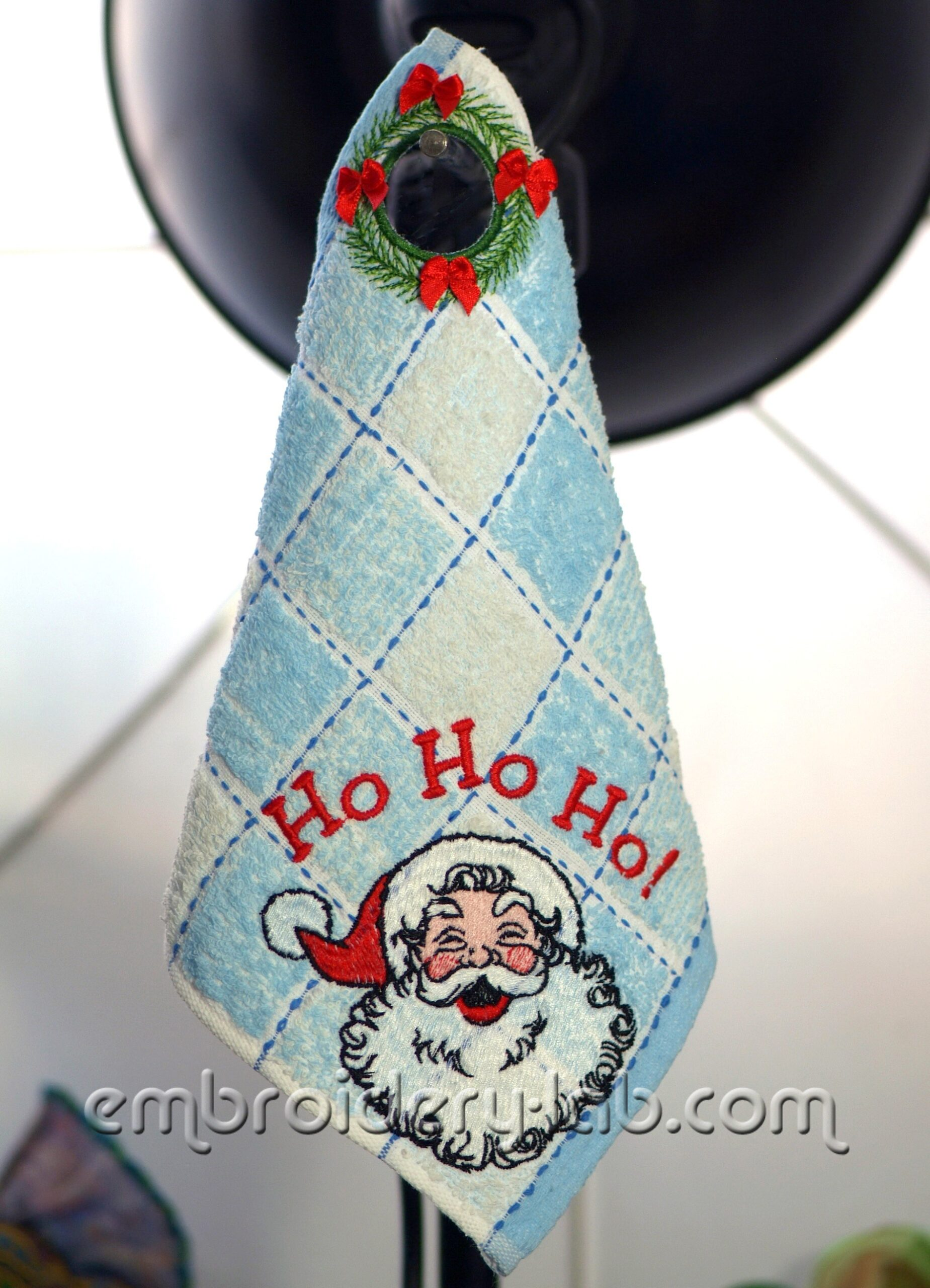 Towel Topper Christmas Wreath 0001 SET