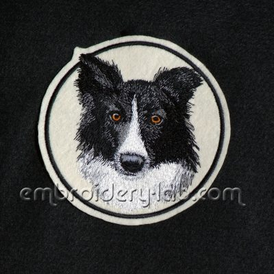 Border Collie 0001 Emblem