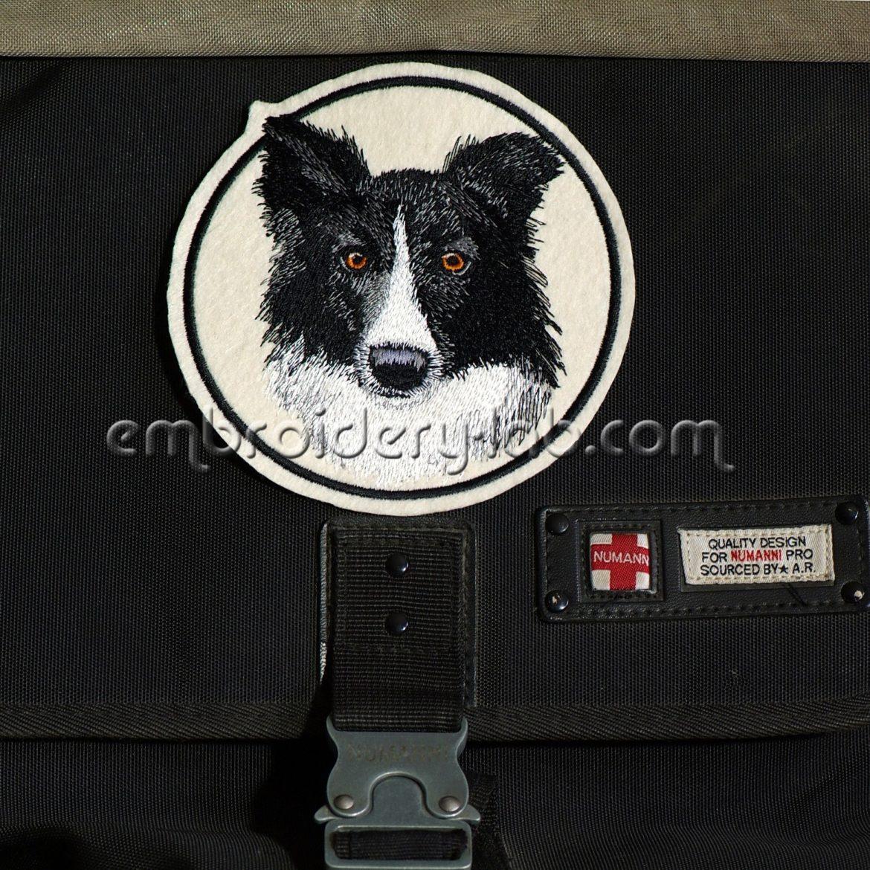Border Collie 0001 Emblem