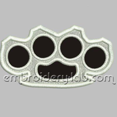 Brass knuckles 0001 Emblem