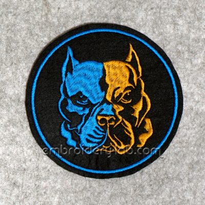 Pit Bull Terrier 0001 Emblem SET