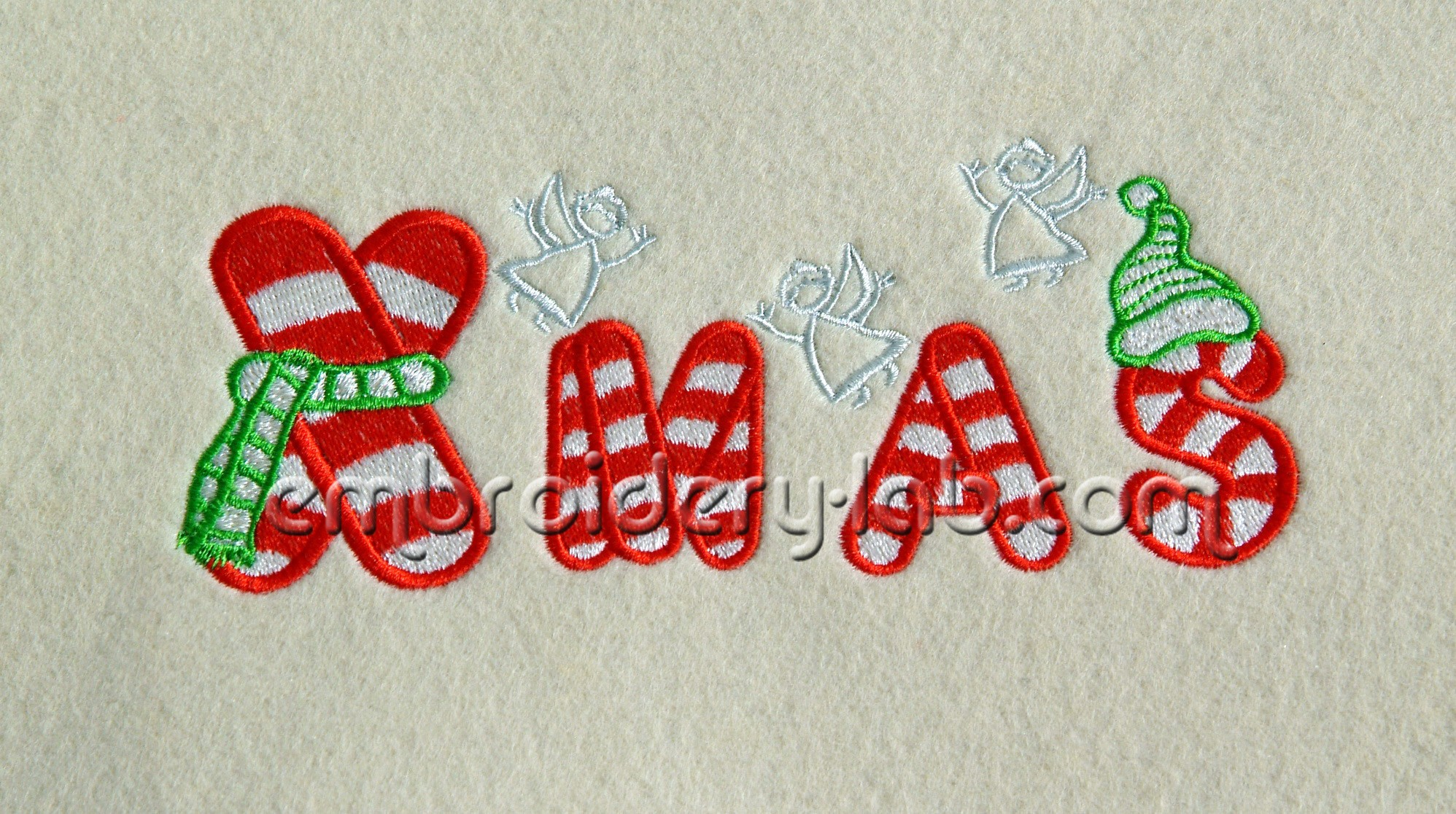Xmas 0001 Machine Embroidery Designs Embroidery Lab