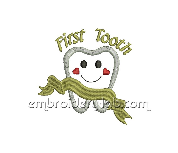 First tooth 0001