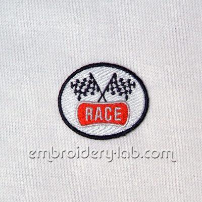 Race emblem 0001