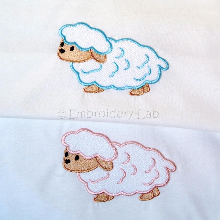 Lamb applique 0001